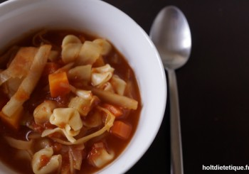 Soupe minestrone
